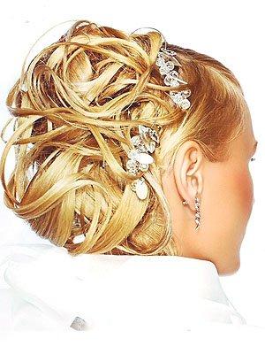 Фото свадебных причёсок, свадебный макияж, свадебный маникюр, стилисты.
