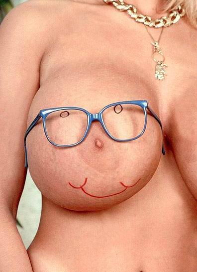 Смешная женская грудь в картинках, открытка февраля своими
