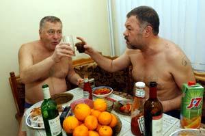 С Новым годом Похе.ру! Вас поздравляю я и Вольфович!