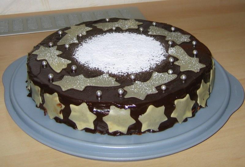 Сметанный торт с желатином фото 1